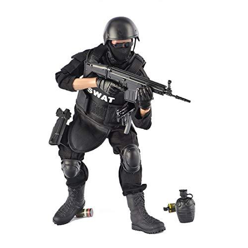 Batop 1/6 Soldat Modell, 12 Zoll SWAT Spezielles Polizei Soldat Actionfigur Modell Spielzeug...