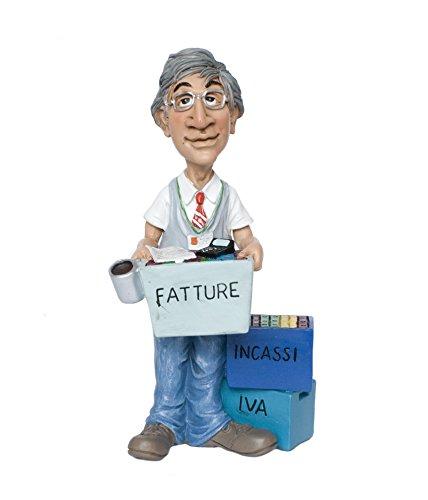 Funny Jobs Berufsfigur Comicfigur Figur Bürokaufmann Buchhalter witzig der Reihe