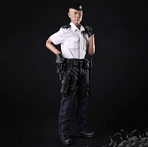 MXUS Hong Kong Police Actionfiguren 1/6 Umweltschutz PVC Spielzeug Statue für Hobbyisten Sammlung