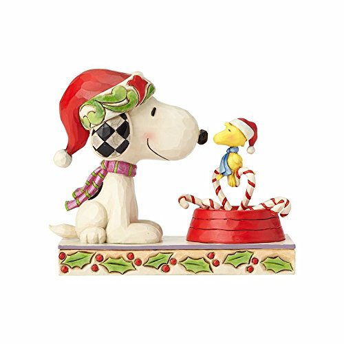 Heartwood Creek Candy Cane Christmas (Snoopy & Woodstock)