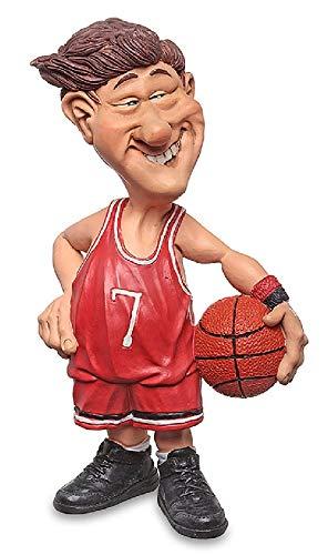 Les Alpes 014 77010 Basketballspieler 17,5 cm Kunstharz Funny Dekofigur Sport