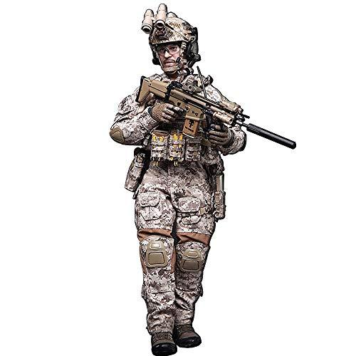 Batop 1/6 Soldat Modell, 12 Zoll US Special Forces Soldat Actionfigur Modell Spielzeug Figuren...