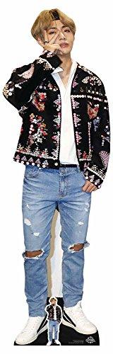Star Cutouts Ltd CS746 V Papp-Aufsteller in Lebensgröße von Kim Taehyung (V) Bangtan Boys,...