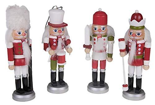 SiegenPro Weihnachtsanhänger Nussknacker, Nußknacker Figuren Deko Nussknacker Anhänger für...