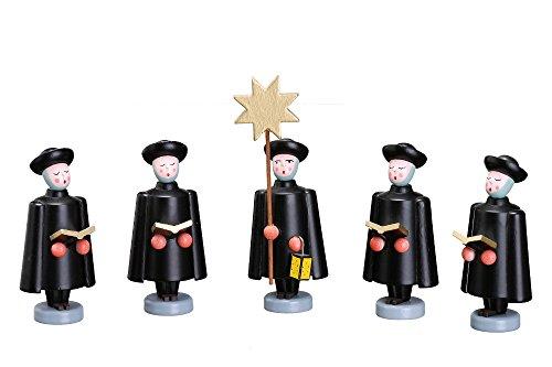 Rudolphs Schatzkiste Weihnachtsfiguren Set Kurrendefiguren groß Höhe ca 10cm NEU Sternsänger...
