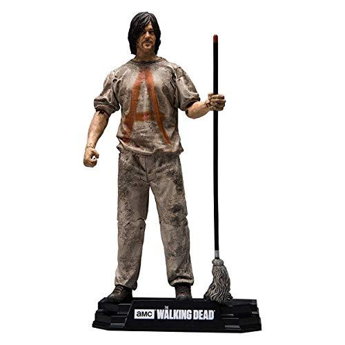 Walking Dead 1465 Zoll TV 2017 Serie 1 Savior Prisoner Daryl Actionfigur, Mehrfarbig