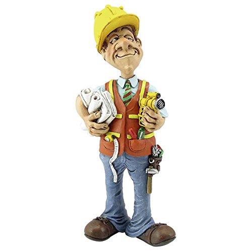 Funny Job - Ingenieur mit Helm und Werkzeug