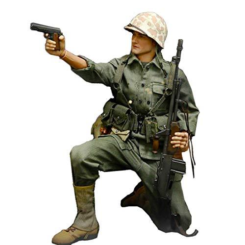 Batop WWII US Navy Soldaten Kostüm für 1/6 Soldat Actionfigur Modell Spielzeug Figuren Militär...