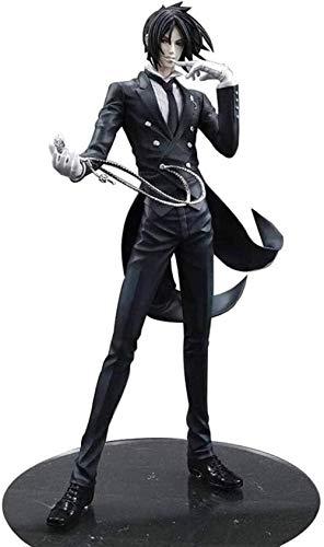 cheaakk Black Butler Figur: Sebastian Michaelis Anime Action Abbildung 7.9 Zoll Figuren PVC-Sammlung...