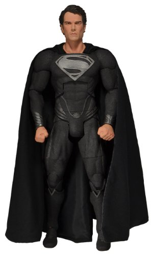 NECA Superman - Man of Steel Black Suit Vers. 45cm Fig.
