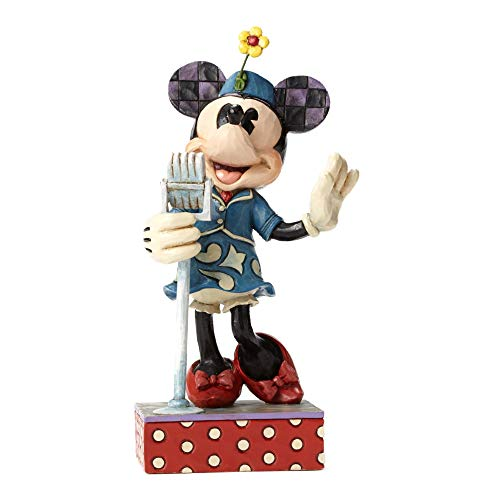 Jim Shore Disney Sweet Harmony Minnie Mouse Singer Music Figurine 4050388 New