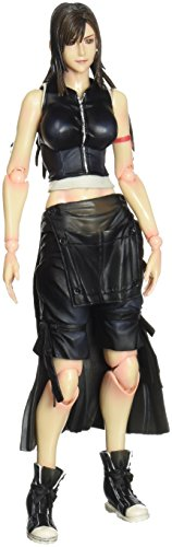 FINAL FANTASY Advent Children Play Arts Kai Tifa Lockheart Action Figur