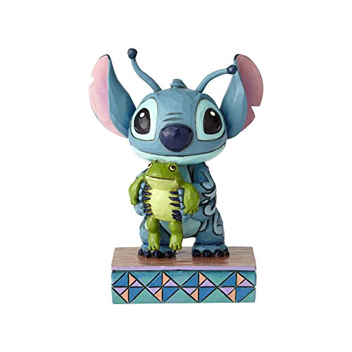 Disney Traditions Strange Life Forms - Stitch with Frog Figur