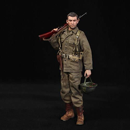 MXUS Captain of The 77Th Infantry Division Actionfiguren 1/6 Spielzeugstatuenmodell Handgemachte...
