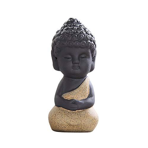 MAIGOIN Mehrfarbig Buddha-Figur Sitzend Deko-Artikel für Wohnung, Haus & Garten   Buddha-Skulptur,...