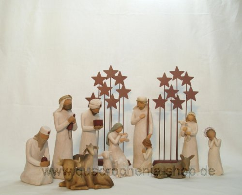 Susan Lordi Willow Tree Willow Tree Krippe Komplett-Set 1