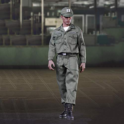 MXUS Militärsoldat Actionfiguren 1/6 Captain America Uniform Edition Spielzeugstatuenmodell...