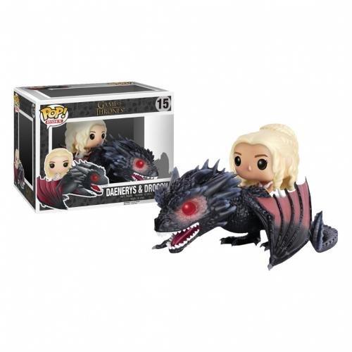 HBO Shop Game of Thrones Pop! Figur Daenerys reitet auf Drogon