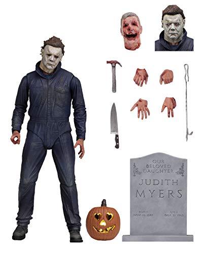 Halloween 7' Actionfigur Ultimate Michael Myers Detailreiche Actionfigur (aus Kunststoff)....