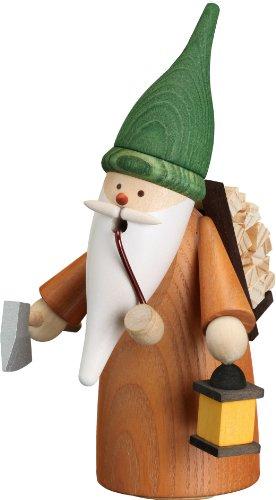Weihnachtsdekoration Räuchermann Wichtel Holzsammler HxBxT = 16x11x10cm NEU Rauchmann Räucherfigur...