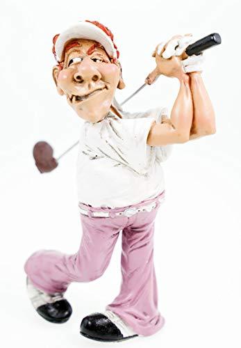 Funny Sport - Golfspieler schlägt ab