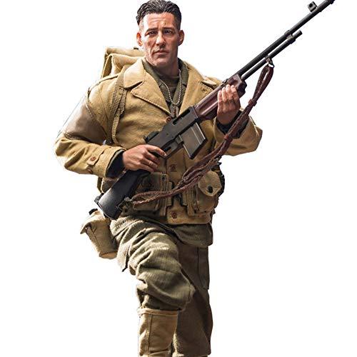 1/6 Soldat Modell Militär Figuren Menschen-Spiel Kinderspiel Statuen Nachbildungen Sammel...