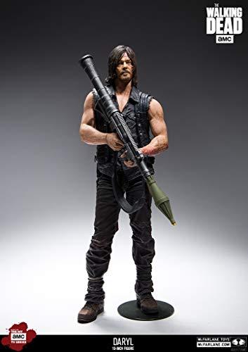 The Walking Dead Deluxe 10' Actionfigur Daryl Dixon Rocket Launcher. Detailreiche Actionfigur aus...