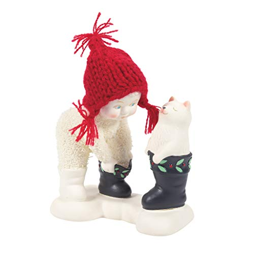Department 56 Snowbabies Classics Christmas Memories That's My Boot Figur, Mehrfarbig, 4.13 Inch