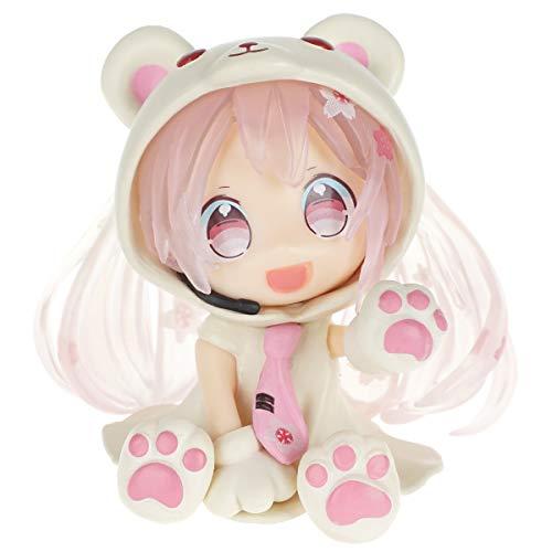 CoolChange Vocaloid Chibi Figur von Eisbär Miku Hatsune, Farbe: Pink