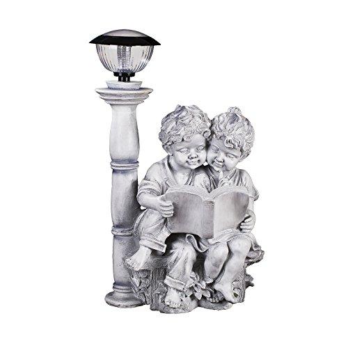 Riesiges Kinderfigurenpärchen NF28773 C , Groß 65 cm hoch , Gartenfigur, Deko Kinder Junge und...
