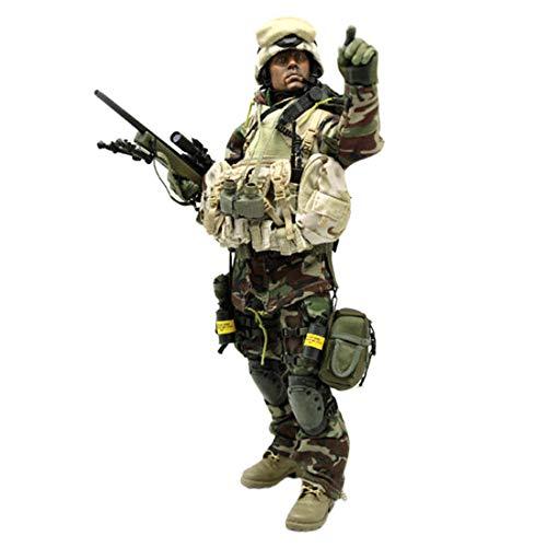 Batop Figuren Zubehör Irak Sniper Kostüm für 1/6 Actionfiguren Soldaten (Körper und Kopf Nicht...