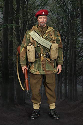 1/6 WWII British Airborne Division Sergeant Actionfigur Der Red Devils Collection Soldat...
