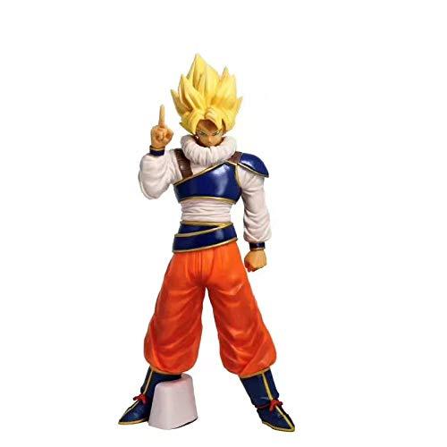 HHLLZP Anime Skulptur Dragon Ball AFFE König Universum Anzug Saiyajin Statuette Fall Dekoration...