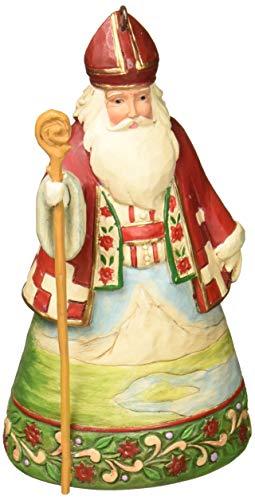 Heartwood Creek Jim Shore Swiss Santa zum Aufhängen Ornament