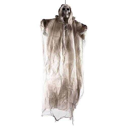 tropicalboy Halloween Deko 180cm Horror Figuren Geist Gespenst Groß Hängend Gruselig Skelett...