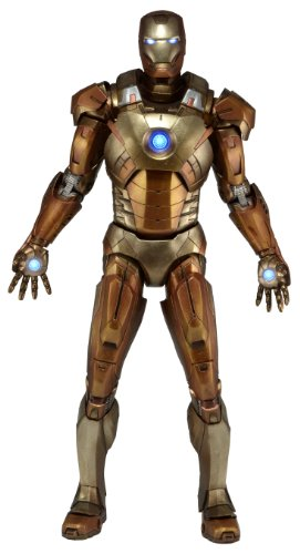 Neca NECA61224 - The Avengers Actionfigur 1/4 Iron Man Mark XXI Midas Armor 46 cm