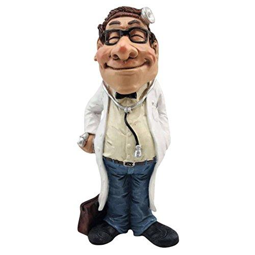 Funny Job - Arzt mit Stirnlampe und Stethoskop