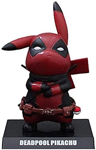 Figur Cosplay Pikachu Anime Action Figure Sammlung Modell Statue Charakter Spielzeug Büro Ornamente...