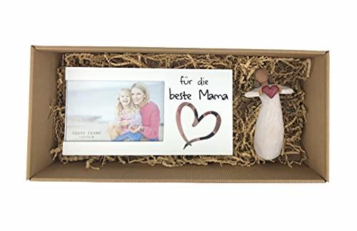 2-TLG. Geschenkbox 'Mama' für Muttertag Geburtstag Geschenk Geburtstagsgeschenk