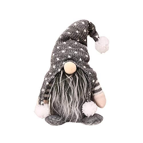 Exuberanter Weihnachtswichtel Deko Schwedische Wichtel Santa Dolls Weihnachtsfigur Wichtel Figuren...