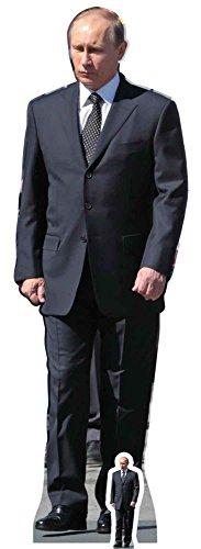 empireposter Putin, Vladimir - Pappaufsteller Pappfigur Standy - ca 55x173 cm