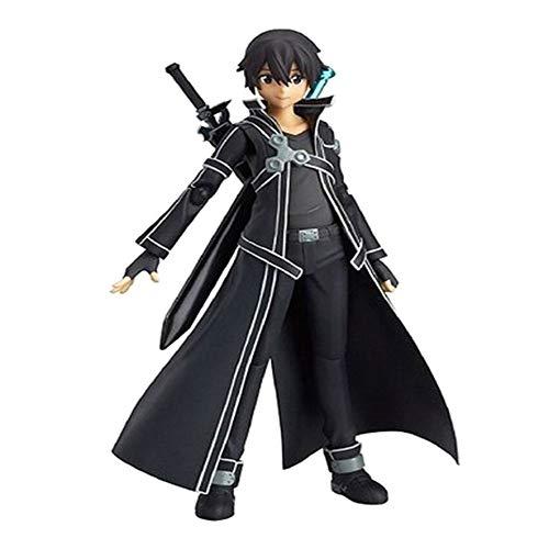 Templom SIX Anime Sword Art Online Charakter Yuuki Asuna Kirito Asada Sinon PVC Action Manga Figur...