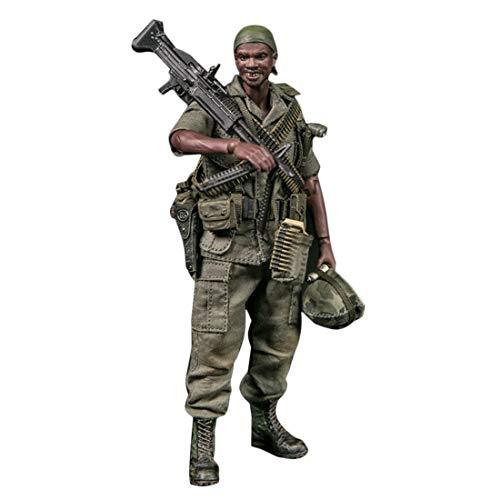 Mecotecn 1/12 Soldat Figur, 5.9 Zoll Soldaten Spielzeug Figuren Militär Actionfiguren Modell - 25....