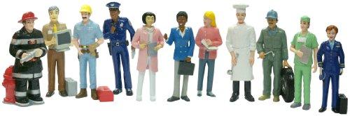 Miniland 27388 - Berufe 11 Figuren 12,5 cm