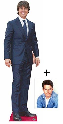 Fan Pack - Tom Cruise Lebensgrosse Pappfiguren / Stehplatzinhaber / Aufsteller - Enthält 8X10...