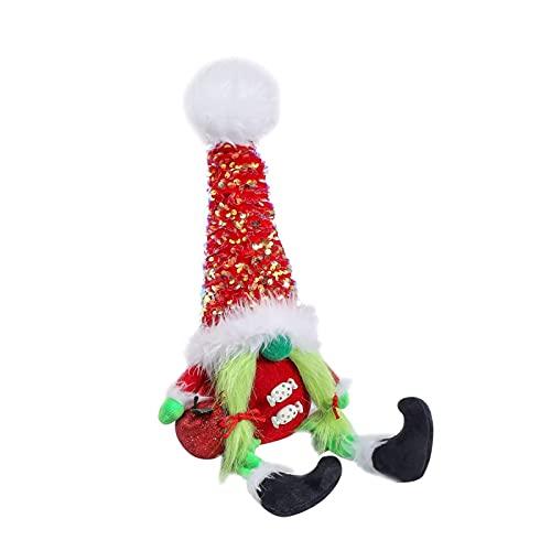LOVOICE Weihnachtszwerg Puppe, Figuren Weihnachten Deko, Frohe Weihnachten Faceless Man Plüsch...