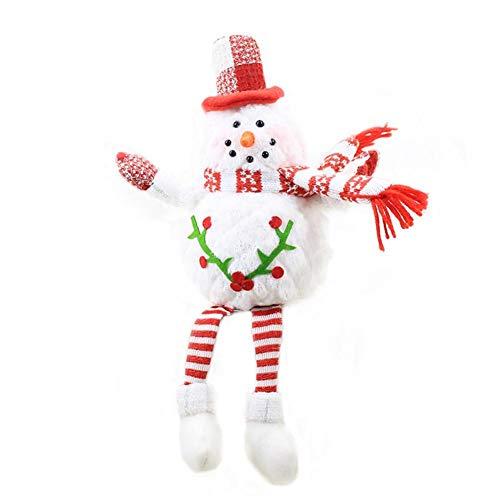 Groust Weihnachtspuppe, Schaum Schneemann Figuren Ornament Weihnachten Wichtel Figuren Deko...