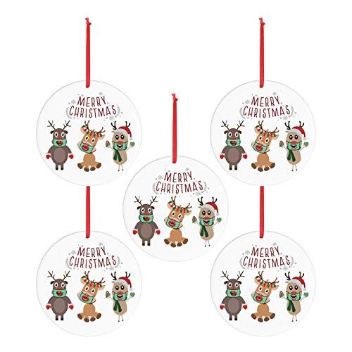 WWYB Weihnachten Anhänger, Weihnachtsbaum Anhänger Weihnachten Hängde Oranament...