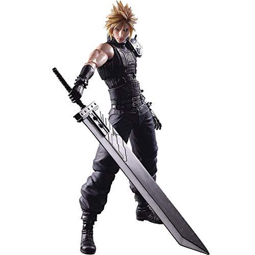 Siyushop Final Fantasy Cloud Strife Play Arts Actionfigur Kai - Claude Actionfigur - Ausgestattet...