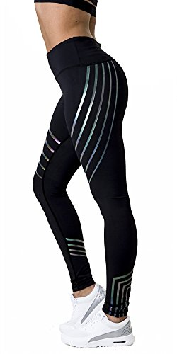 Morbuy Damen Leggings, Sport Gym Yoga Workout Pants Basic Fitness Hohe Taille Jogginghose...